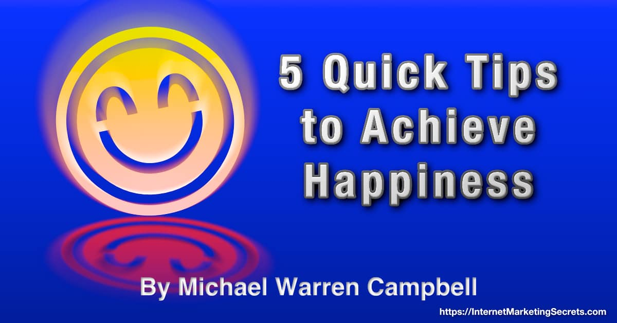 An original graphic that conveys happiness to the viewer. © Copyright 2021 Michael Warren Campbell.